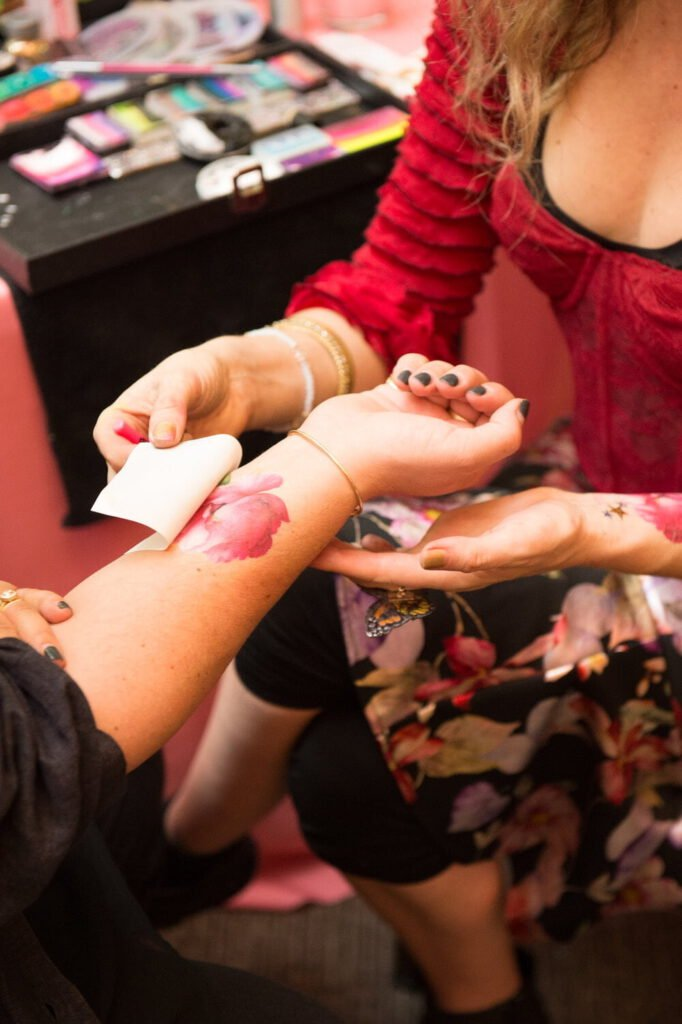 Girl Tattoo on Hand - Entire Events