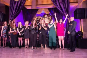 Mardi Gras Team with Event Planners