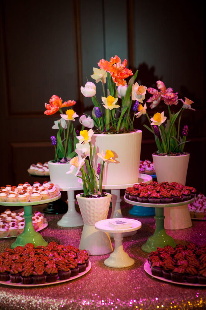 The Bently Reserve Reception Flowers