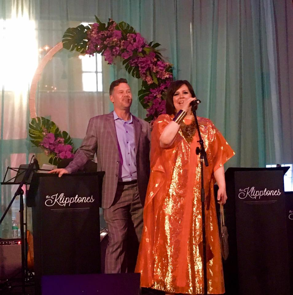 Natasha Miller Sung the Swing Party