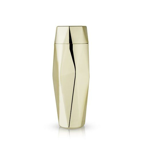Faceted Gold Cocktail Shaker    $59.99