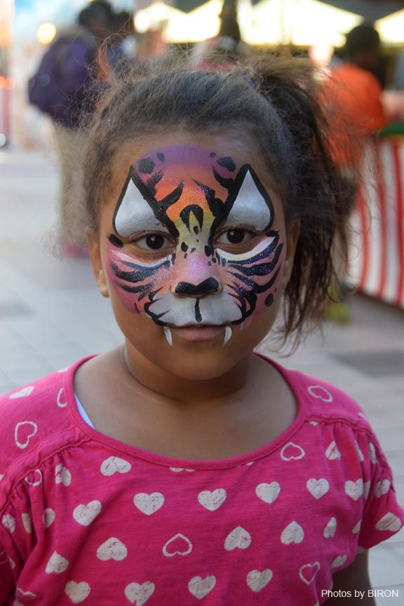Face Painting Child Model
