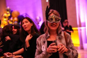 Bently Reserve Celebrate with Audience