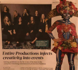 San Francisco Business Times Fast 100 - Entire Productions