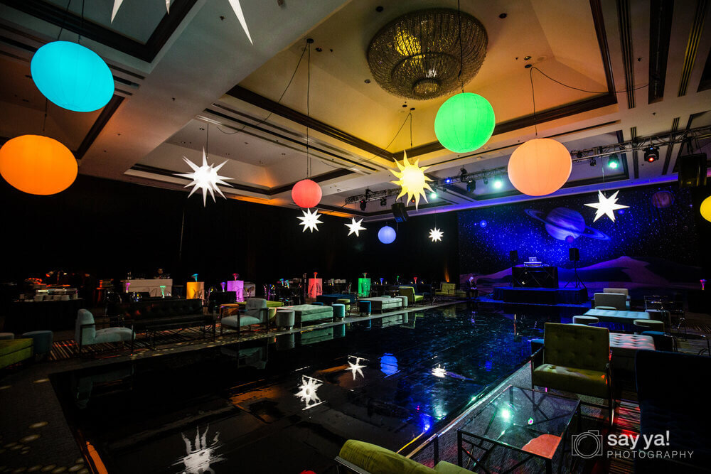 Party Hall Night Decors - Entire Productions