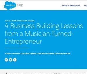 Salesforce Leading Business: Entire Productions