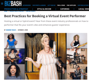 Best Practices for Booking a Virtual Event Performer