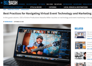 Best Practices for Navigating Virtual Event Technology and Marketing