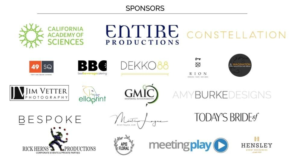 Into The Wild - Entire Event Sponsors