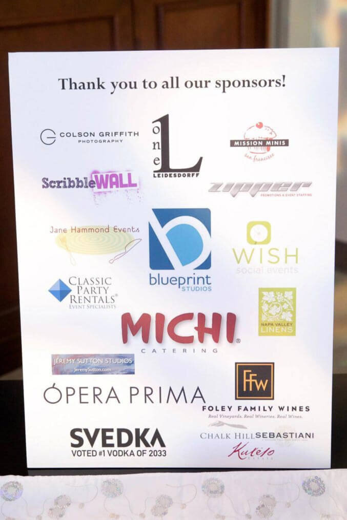 Annual Showcase Sponsors - Event Production