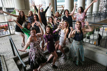 Group Cheer Dancing Party - Bently Reserve