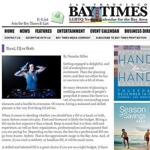 San Francisco Bay Times - Entire Productions