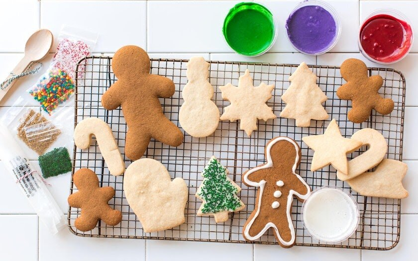 Decorate cookies with friends and coworkers -