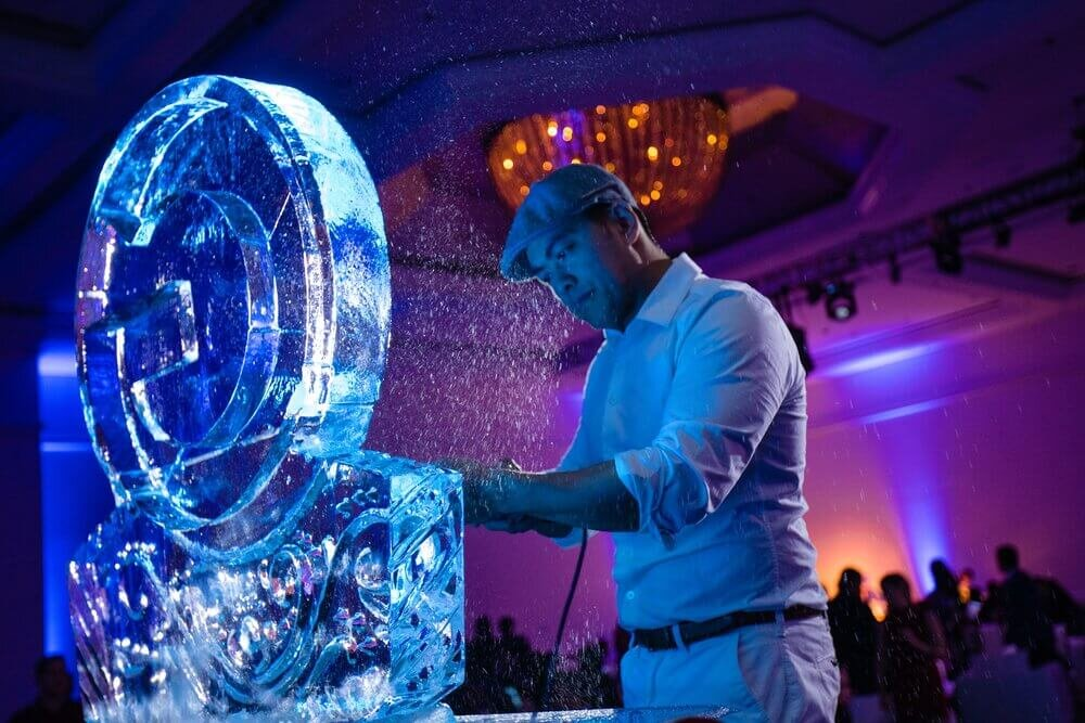 Ice Sculpture Artists - Google Holiday Party