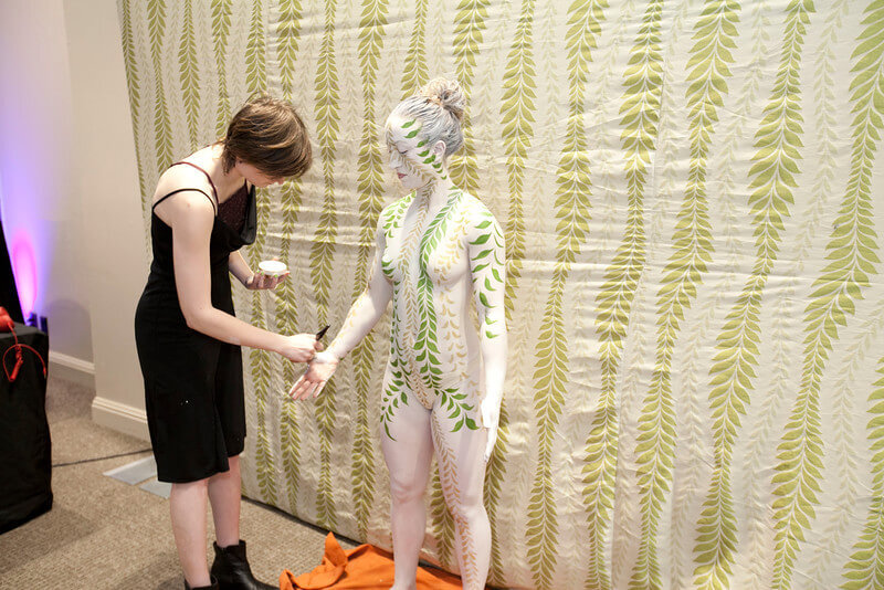 Girl Body Painting Artists
