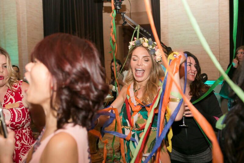 Entertainers of Girls Party Area