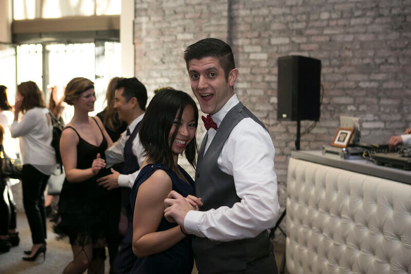 Couple Dance in Suddenly Event