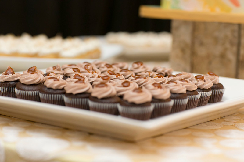 Side Dish of Cup Cake Serves Entire Events