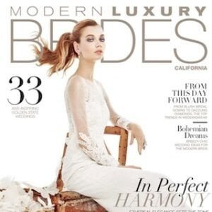 Modern Luxury Brides Magazine about Entire Productions