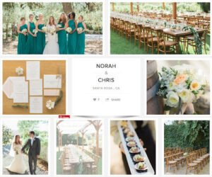 Green hue at the Annadel Estate with Alicia K. Designs