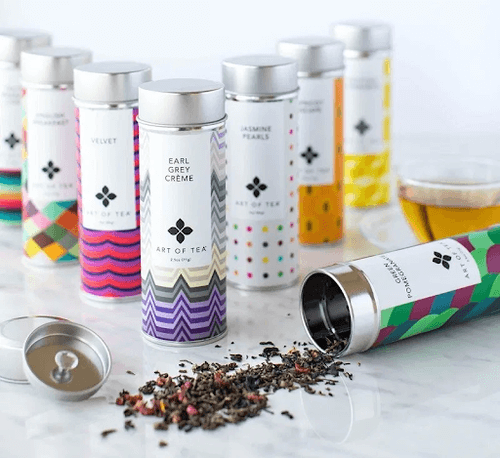 Art of Tea Canisters