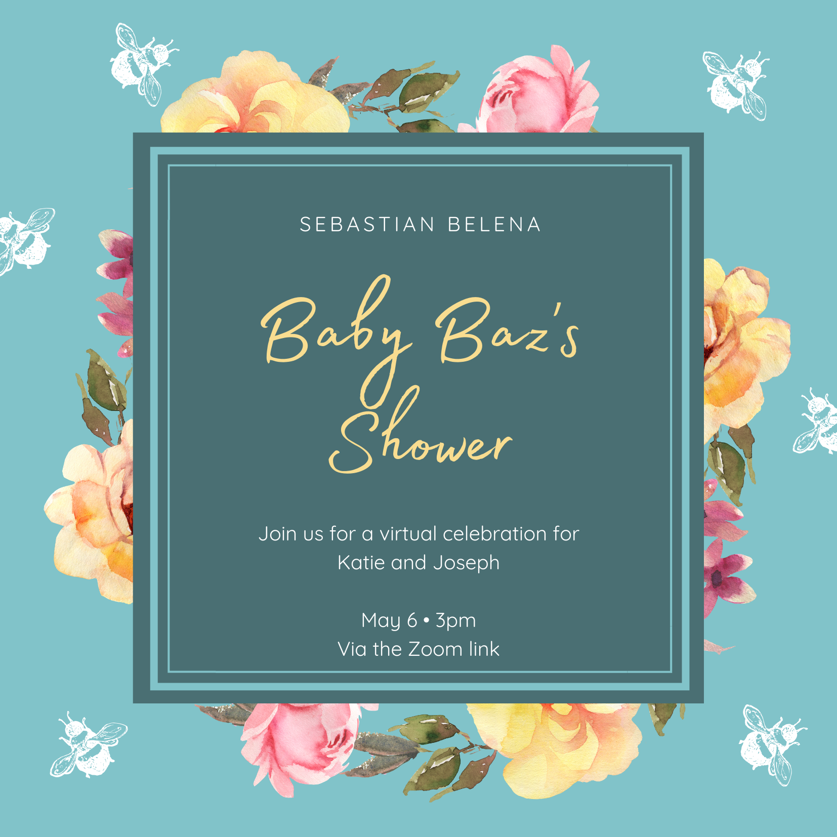Baby Baz's Shower - Virtual Events