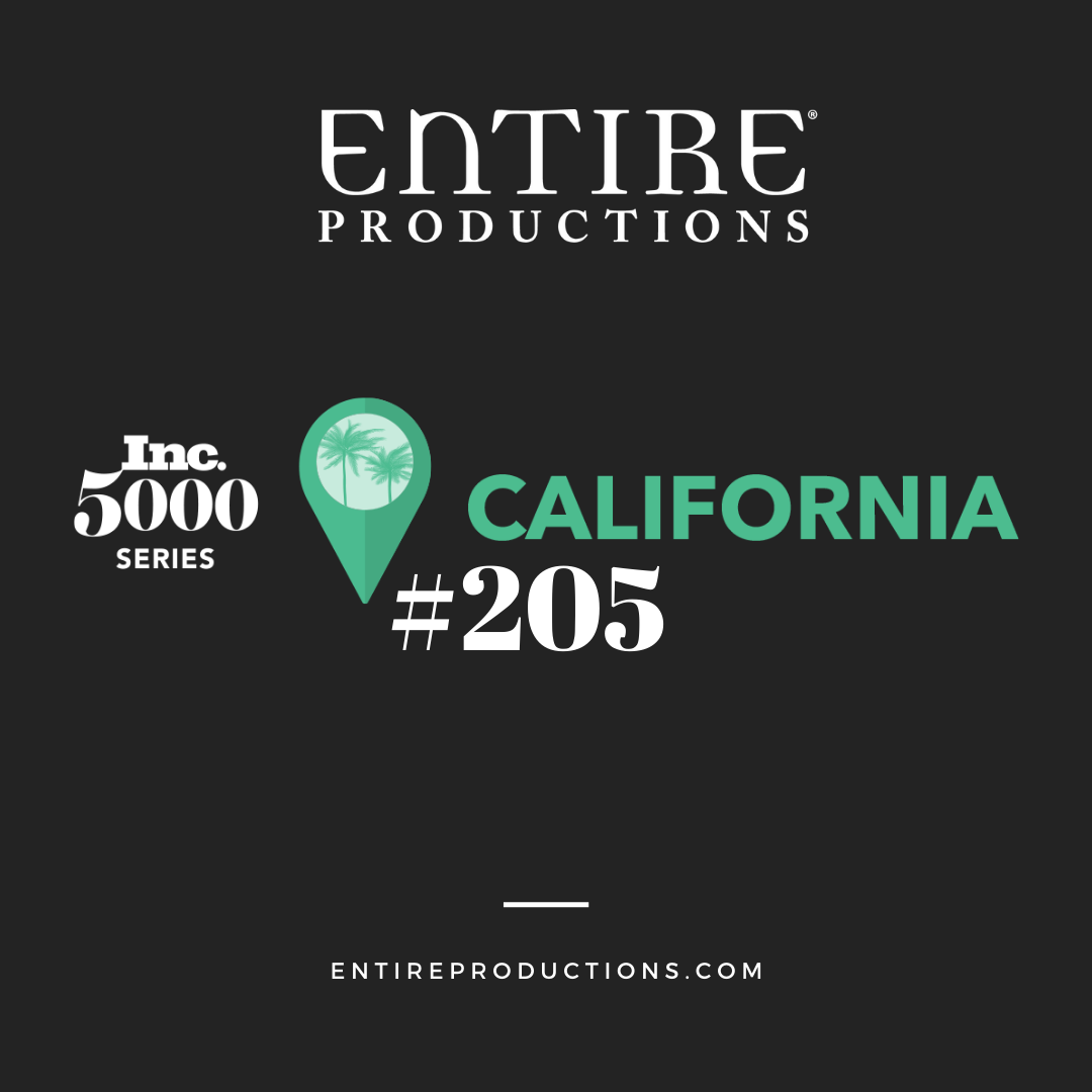 Entire Productions at California